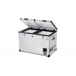 Réfrigérateur congélateur portable à double compartiment SNOMASTER SMDZ-TR82D • 82 litres • 12v 24v 240v • +10 à -22°c