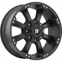 Jante Aluminium 4x4 BALLISTIC 845 9x18 6x139.7 CB106.1 ET+12