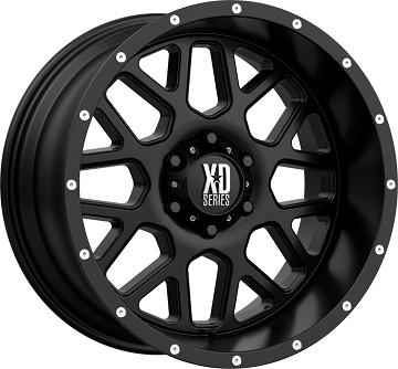 Jante Aluminium 4x4 KMC XD820 9x20 6x139.7 CB106.25 ET+18 Satin Black