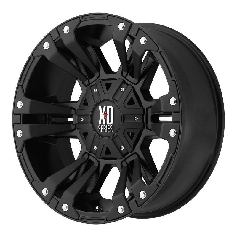 Jante Aluminium 4x4 KMC XD822 9x20 6x139.7 CB106.25 ET+18 Mat Black