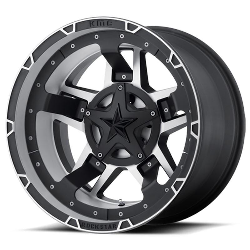 Jante Aluminium 4x4 KMC XD827 9x20 5x127 CB72.6 ET+18 Machined
