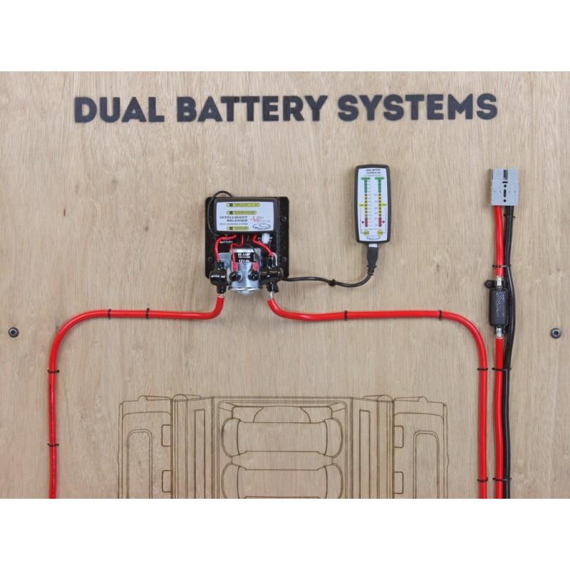 support de fixation 2 batteries front runner pour toyota land cruiser 75 78 79 bbtl002. Black Bedroom Furniture Sets. Home Design Ideas