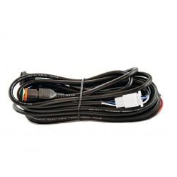 Faisceau de câbles pour spot ou barre LED avec prise DT FRONT RUNNER