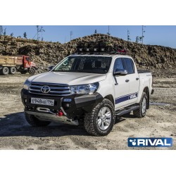 Marchepieds RIVAL Toyota Hilux Executive/Rocco 2018+