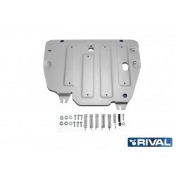 Protection Alu 6mm RIVAL Moteur + Boite de Vitesse Range Rover Evoque L538 2011+