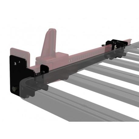 Support de cric Hi-Lift Mk2 sur galerie FRONT RUNNER Slimline II