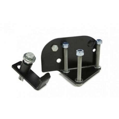 Support de cric Hi-Lift FRONT RUNNER sur pare-choc arrière de Land Rover Defender 90 ou 110
