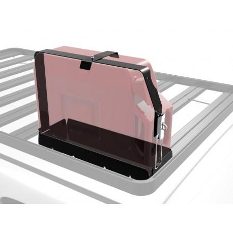 Support simple jerrycan US 20 litres sur galerie FRONT RUNNER Slimline II