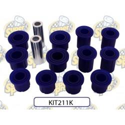 Bagues de lames polyuréthane Superpro (jeu pour 2 côtés) Nissan Navara D23 2.3Dci 160ch 2015+ KIT211K