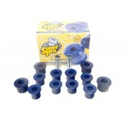 Bagues de lames polyuréthane Superpro (jeu pour 2 côtés) Nissan Navara D22 2.5Di 133ch 03/2002 à 09/2008 KIT5142RK