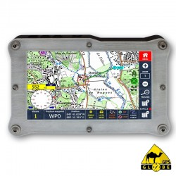 Gps GLOBE 4X4 500X 64GB Guidage Routier Grande Europe GPS-500X 64GB GRGE