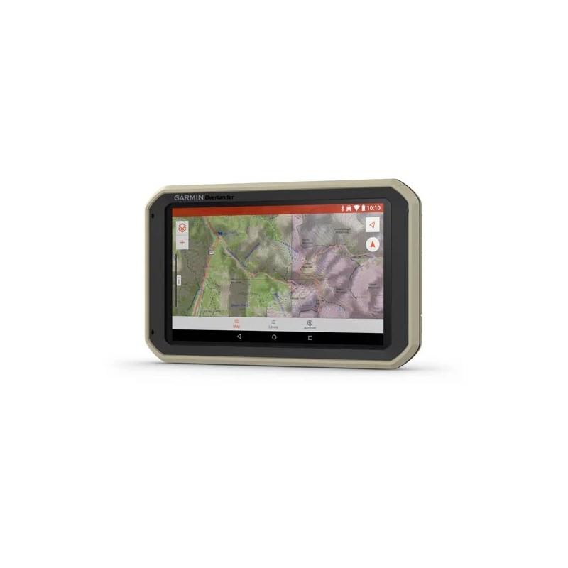 "Gps 4x4 GARMIN Overlander 7"" 64Go • Navigation intégrée"