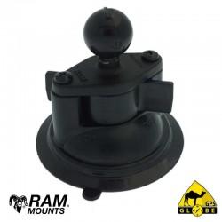 Base Ventouse RAM complète pour GPS GLOBE 4x4 équipés de bras RAM ACC-RAMB V