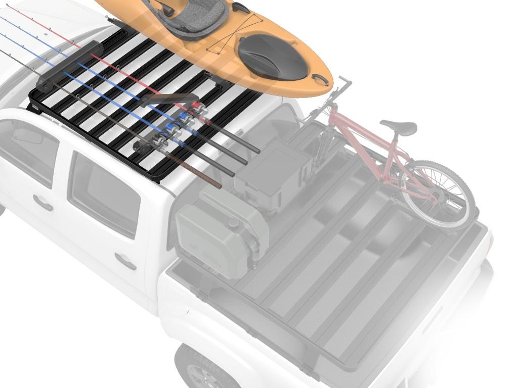 Galerie FRONT RUNNER Slimline II 1255 x 1156 mm Track Mount pour Ford Ranger PX Super Cab 2012-2015