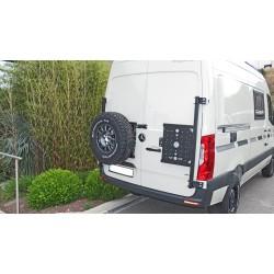 Porte-roue sur Porte Arrière Gauche Mercedes Sprinter 4x4 2019+