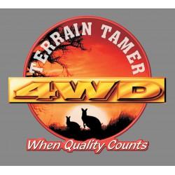 Chaine de treuillage TERRAIN TAMER 5m • 2,5 tonnes TDC