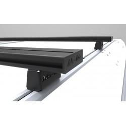 Barres de toit ALU-CAB 1450mm noires • High Profile • Paire AC-C-A-LB1450-B