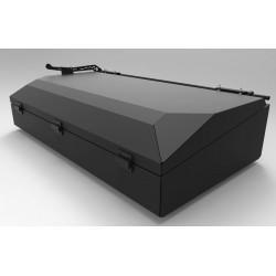 Coffre de toit 200 litres ALU-CAB noir AC-RB-B-K
