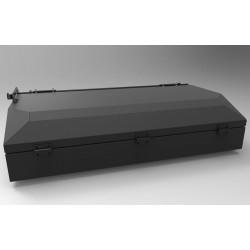 Coffre de toit 250 litres ALU-CAB noir AC-RB-B-G