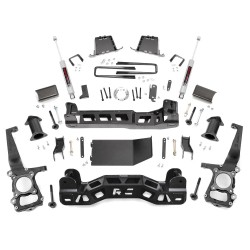 "Kit suspension Rough Country +6"" (15cm) Ford F150 2011-2013 RCK57530"