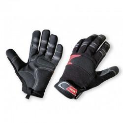 Paire de gants de treuillage WARN taille L (tour de main 24cm - taille 9)