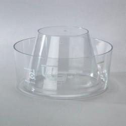Cuve Translucide de Remplacement pour Pré-Filtre Cyclonique DONALDSON Full View H001249