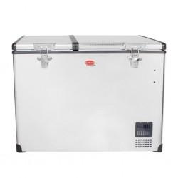 Réfrigérateur congélateur portable à double compartiment SNOMASTER SMDZ-EX85D • 85 litres • 12v 220v • +10° à -22°c