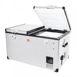 Réfrigérateur congélateur portable à double compartiment SNOMASTER SMDZ-LP66D • 66 litres • 12v 220v • +10° à -22°c