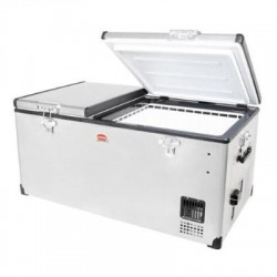Réfrigérateur congélateur portable à double compartiment SNOMASTER SMDZ-LP96D • 92,5 litres • 12v 220v • +10° à -22°c