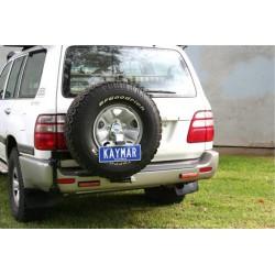 Porte-roue Arrière Gauche KAYMAR sur pare-choc origine Toyota HDJ100
