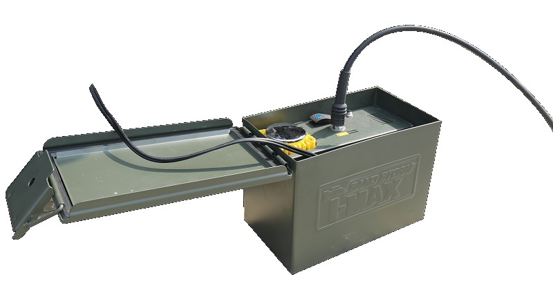 Compresseur T-MAX Sand-Storm mono cylindre 180l/mn - 12v