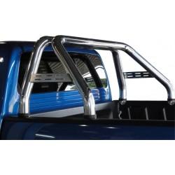 Roll bar inox ø70 Nissan NP300 2016+ montage avec bac de benne sans rebords
