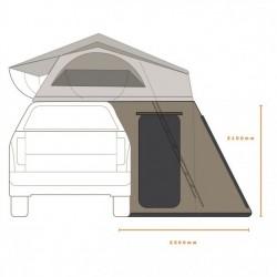Annexe hauteur 210 pour tente de toit australienne DARCHEHI VIEW / PANORAMA 140