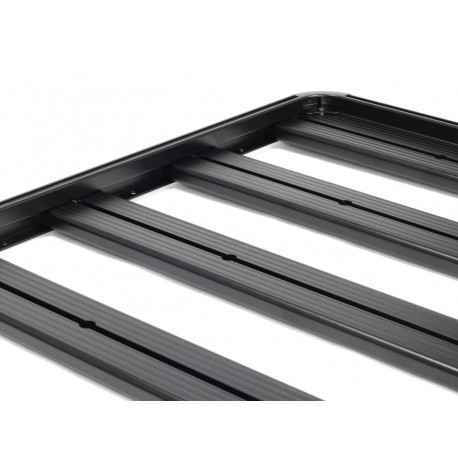 Galerie FRONT RUNNER Slimline II 1255 x 1358 mm Gutter Mount pour Mitsubishi L200 K34 Double Cab 1992 à 1996