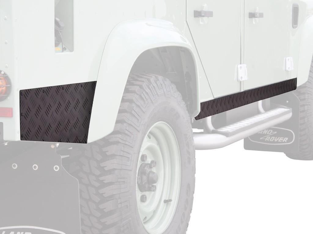 Protections de bas de caisse FRONT RUNNER pour Land Rover Defender 110