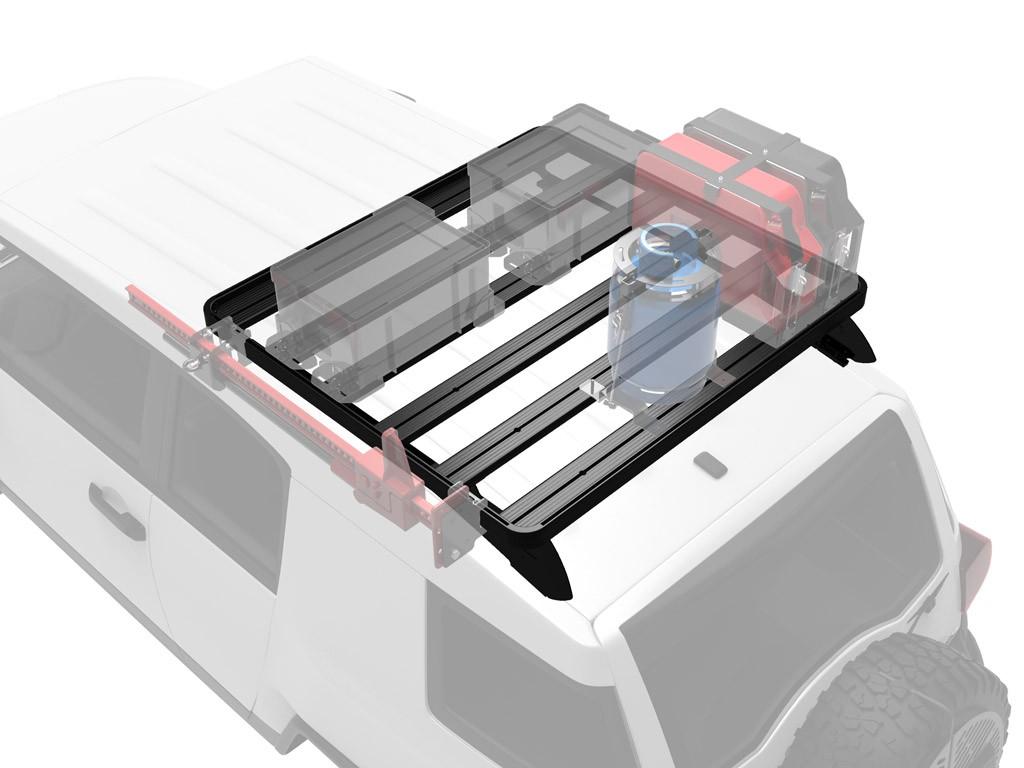 Galerie FRONT RUNNER Slimline II 1255 x 1156 mm Foot Mount pour Toyota FJ Cruiser