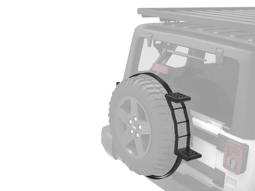 echelle de roue de secours front runner ladd007. Black Bedroom Furniture Sets. Home Design Ideas