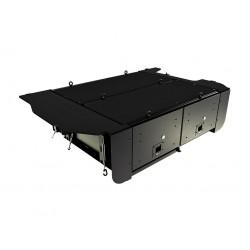 Aménagement de coffre FRONT RUNNER pour Mitsubishi Pajero III et IV DID 5 portes 2000-2014