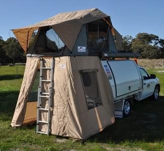 Kit 3 côtés pour tente Feather-Lite FRONT RUNNER