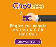 CHOOZEO 3x 4x CB sans frais