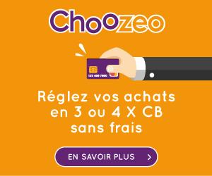 Règlez vos achats en 3 ou 4x CB sans frais avec Choozéo